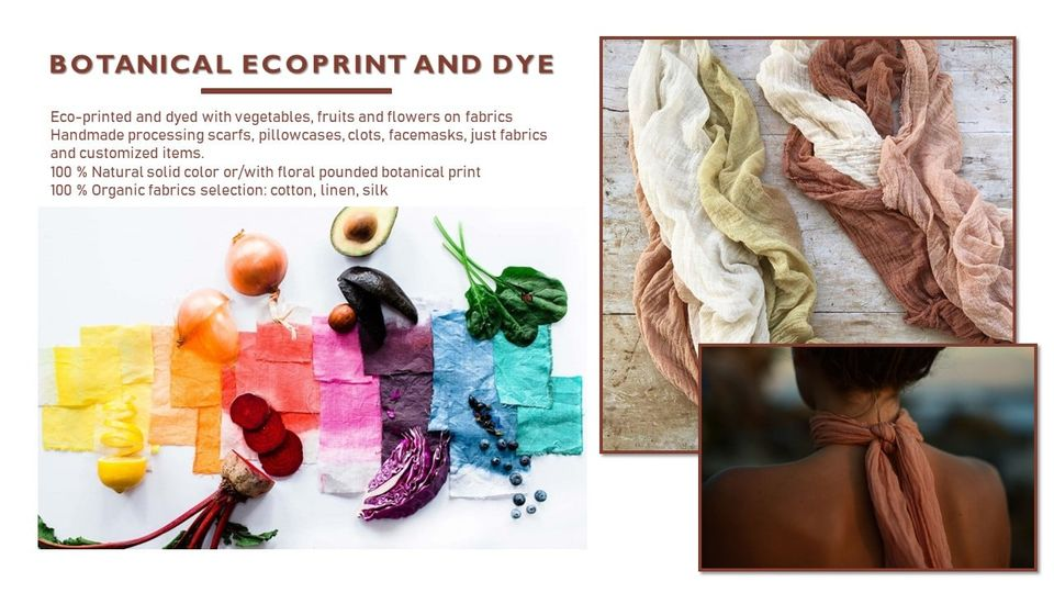 Why our eco-printed and eco-dyed pieces are special?